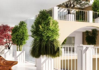 Casa Astrea: il balcone