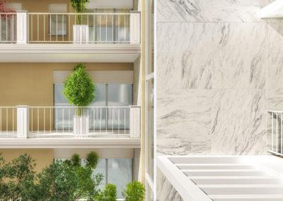 Casa Aurora: il balcone