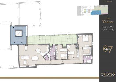 Casa Venere: la planimetria