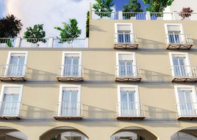 Casa Cerere: vista fronte strada