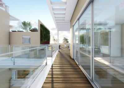 Casa Diana: il balcone