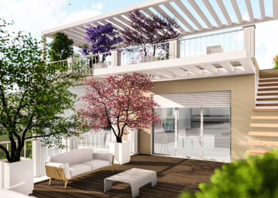 Casa Giunone: Il terrazzo
