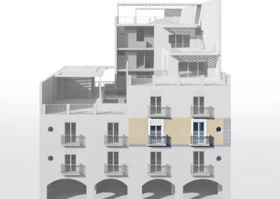 Casa Minerva in evidenza sul progetto