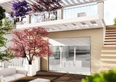 Casa Vesta: il terrazzo